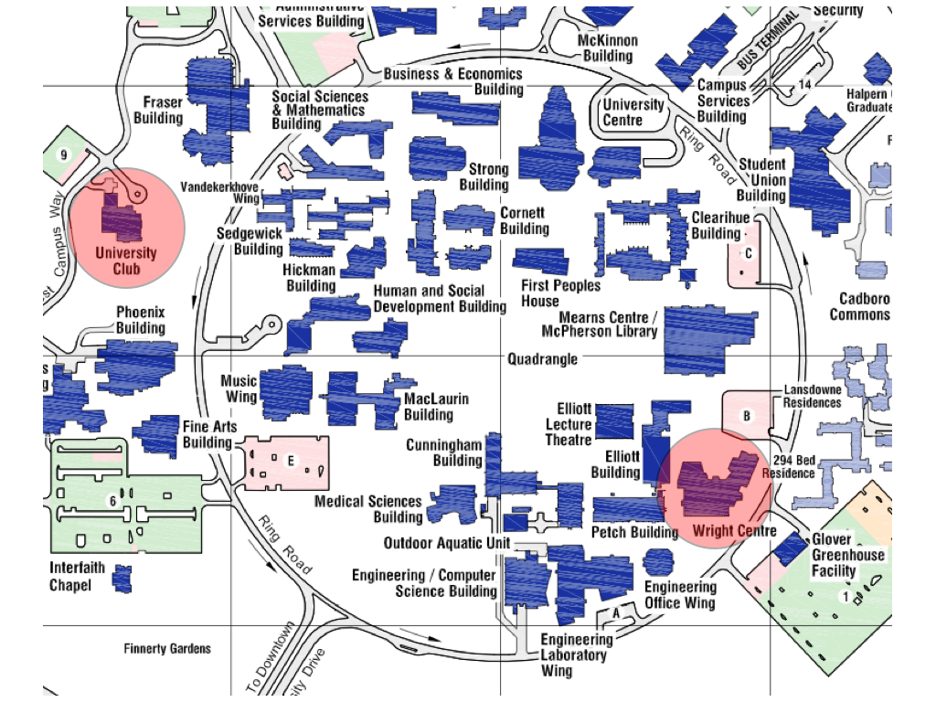 university of victoria campus map Wi80 university of victoria campus map